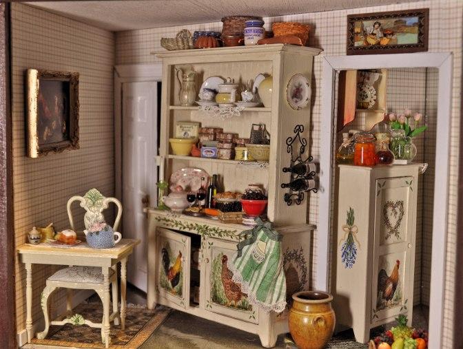 The cozy kitchen